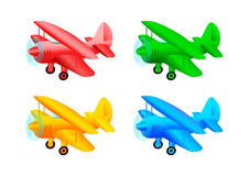 Colorful planes Royalty Free Stock Photography
