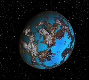 Colorful planet Stock Image