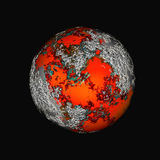 Colorful planet Stock Photography