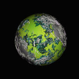 Colorful planet Royalty Free Stock Photography