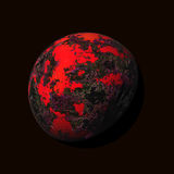 Colorful planet Stock Images