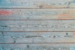 Colorful plank of wood. Texture royalty free stock photo