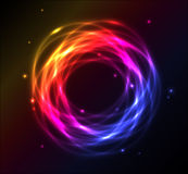 Colorful plasma background Royalty Free Stock Image