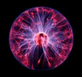 Colorful plasma ball Stock Image