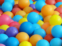 Colorful plastic ball Stock Photos