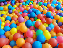 Colorful plastic ball Stock Image