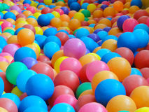 Colorful plastic ball Royalty Free Stock Image