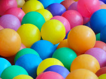 Colorful plastic ball Royalty Free Stock Photo