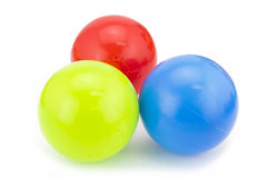 Colorful Plastic Ball Royalty Free Stock Photos