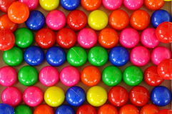 Colorful plastic balls Stock Images