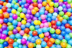 Colorful Plastic Balls Background Royalty Free Stock Photos