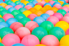 Colorful plastic balls background Royalty Free Stock Image