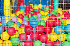 Colorful plastic balls Royalty Free Stock Photos