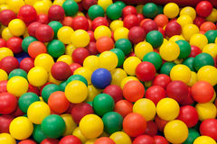 Colorful plastic balls Royalty Free Stock Photography