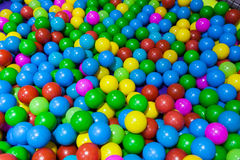 Colorful plastic balls Stock Photography