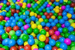 Colorful plastic balls Stock Photography