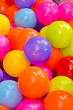 Colorful plastic balls Stock Photos