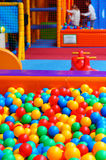Colorful plastic balls Stock Photo