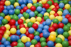 Colorful plastic balls Royalty Free Stock Photo