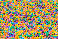 Colorful plastic balls texture background Royalty Free Stock Photography