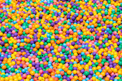 Colorful plastic balls texture background Stock Photos