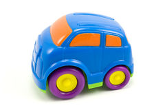 Colorful plastic car Stock Images