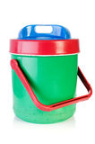 Colorful plastic cool box Royalty Free Stock Photography