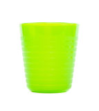 Colorful plastic cup Stock Photography