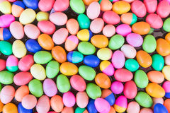 Colorful plastic eggs toy Royalty Free Stock Photography