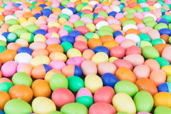 Colorful plastic eggs toy Royalty Free Stock Photo