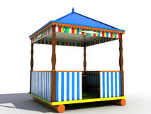 Free Colorful Plastic Garden Furniture №1 Royalty Free Stock Image - 21619146