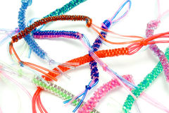 Colorful plastic ropes Royalty Free Stock Photography