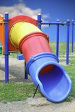 Colorful plastic slide Royalty Free Stock Image