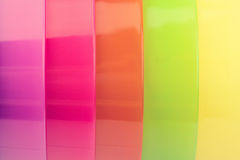 Colorful plastic texture Stock Photos