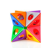 Colorful plastic toy Stock Photography