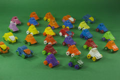 Colorful plastic toys Royalty Free Stock Photo