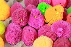 Colorful plastic toys for sale Stock Photo