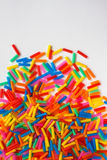 Colorful of plastic tube. Colorful background from  plastic tube Royalty Free Stock Image