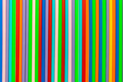 Colorful plastic used as background Royalty Free Stock Photography