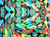 Colorful plasticine abstract Royalty Free Stock Image