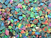 Colorful plasticine abstract Royalty Free Stock Photography