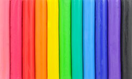Colorful plasticine background Royalty Free Stock Photography