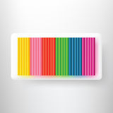 colorful plasticine Royalty Free Stock Image