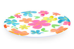 Colorful plate Royalty Free Stock Photography