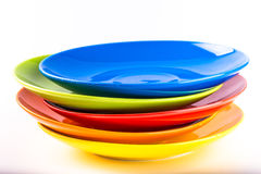 Colorful plate Stock Images
