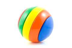 Colorful play ball Royalty Free Stock Images
