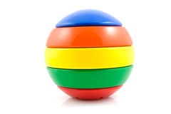 Colorful play ball Stock Images