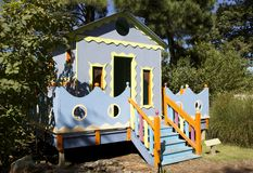 Colorful Play Children's House Royalty Free Stock Photography