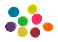 Colorful play modeling putty Stock Images