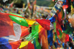Colorful Player Flag flying. In China Royalty Free Stock Photos